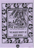 Cover image from the USGB's Syncopator magazine - date uknown